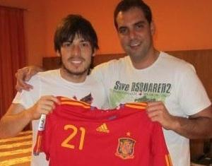 Eduardo A. Con David Silva
